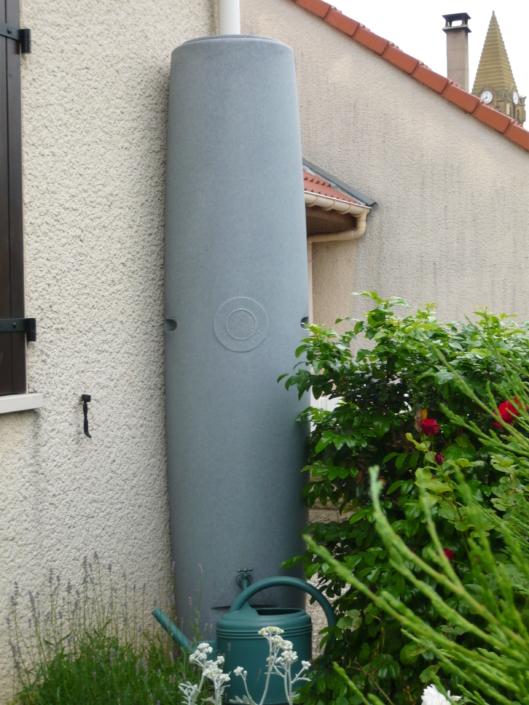 Colonne Récupération eau de pluie 400L