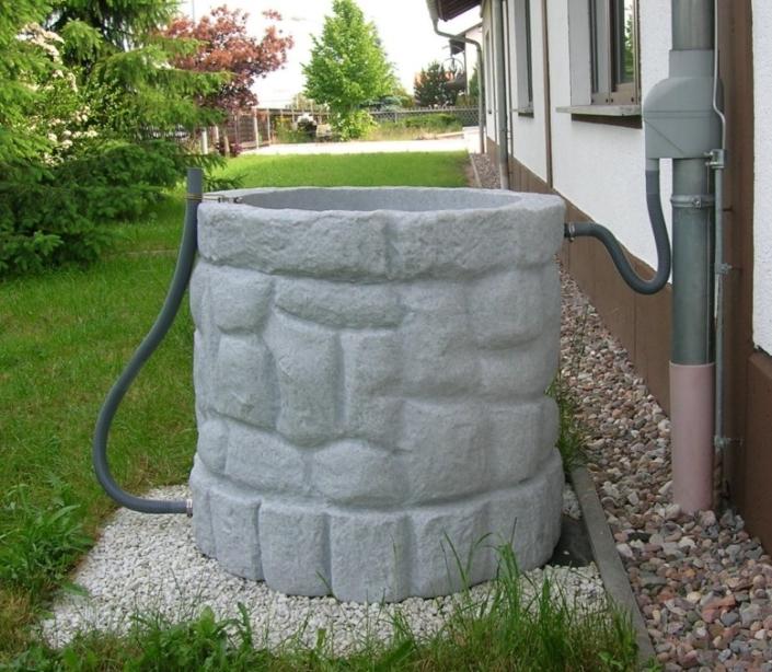 Récupérateur eau de pluie 400L