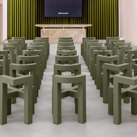 Chaise plastique design