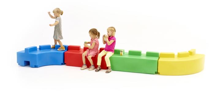 Mobil plastic playground