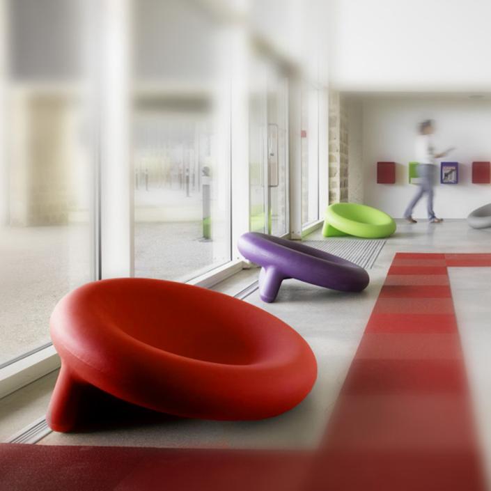 Plastic design chair