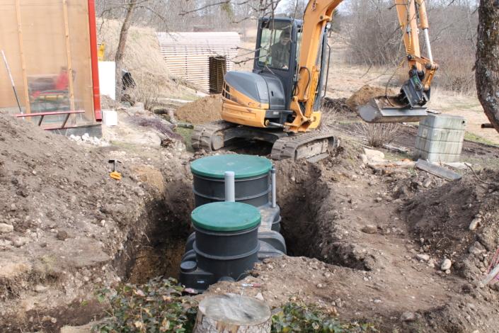 Rotational molding Sewage treatment solution