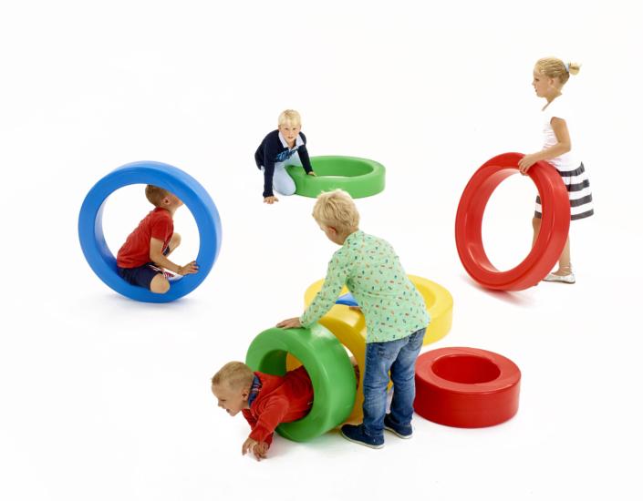 Rotomold Plastic wheel