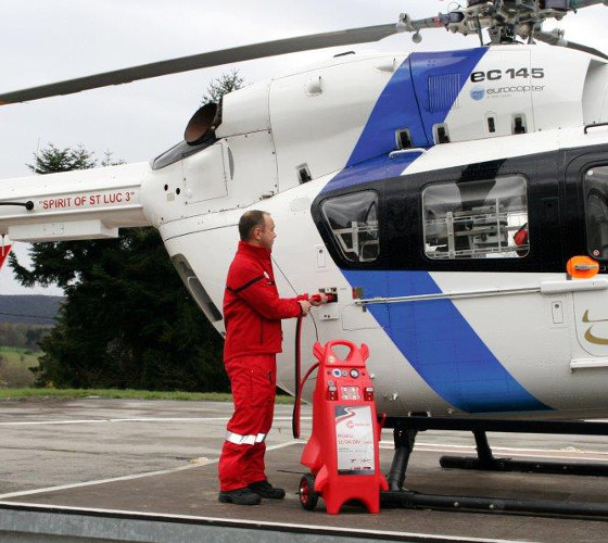 Booster-plastique-helicoptère