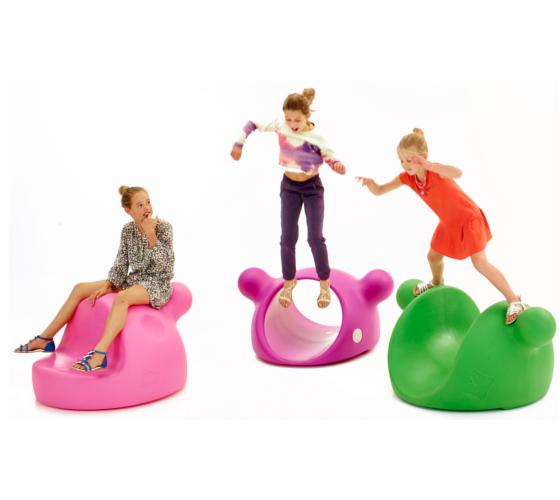 Outdoor plastic playground equipment