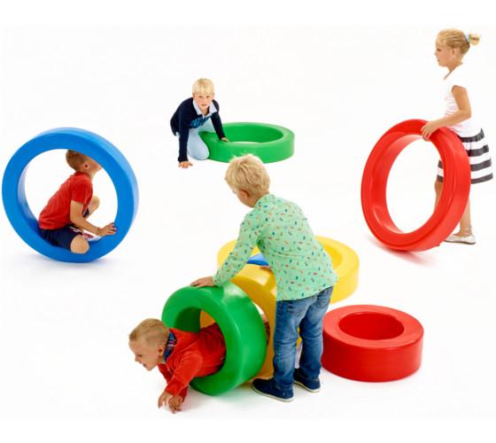 Roues plastique jeux enfant